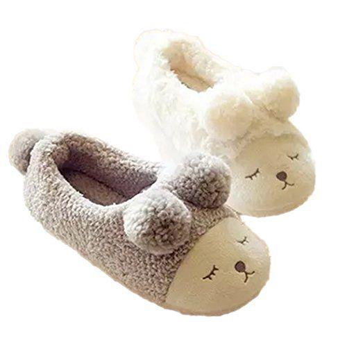 fe0fffd54333c Women's Slippers - MiYang Womens Warm Plush Soft Sole Indoor Slipper ...