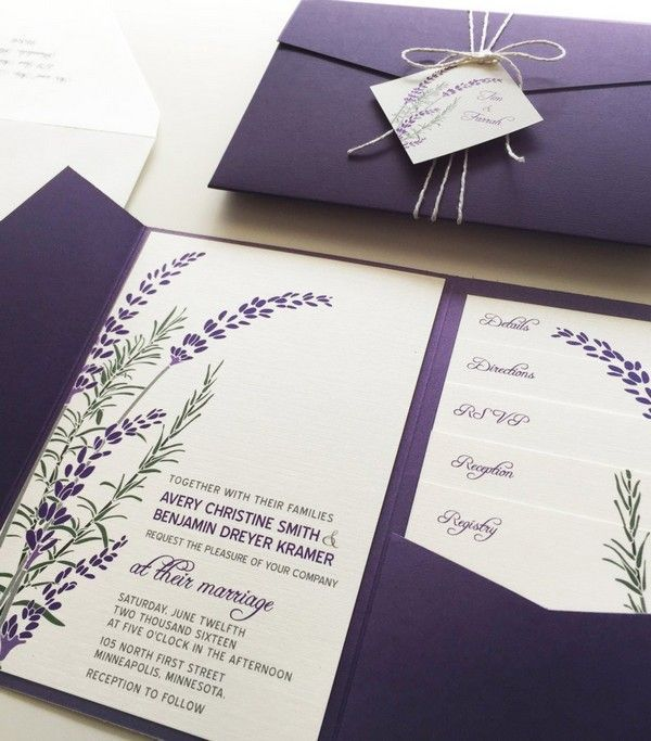 18 Perfect Fall Wedding Invitations to Choose from ETSY - Fall wedding invitations, Affordable wedding invitations, Pocket wedding invitations, Purple wedding invitations, Lavender wedding invitations, Budget wedding invitations - They say that the eyes are the windows to the soul, but we say that your wedding invitations are the windows to your wedding! If you're searching for the right stationery to announce your autumnal nuptials to friends and family, look no further than these fall wedding invitations from Etsy! From seasonal florals to watercolorRead more