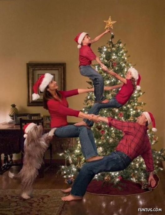 Now, that's a Christmas card!