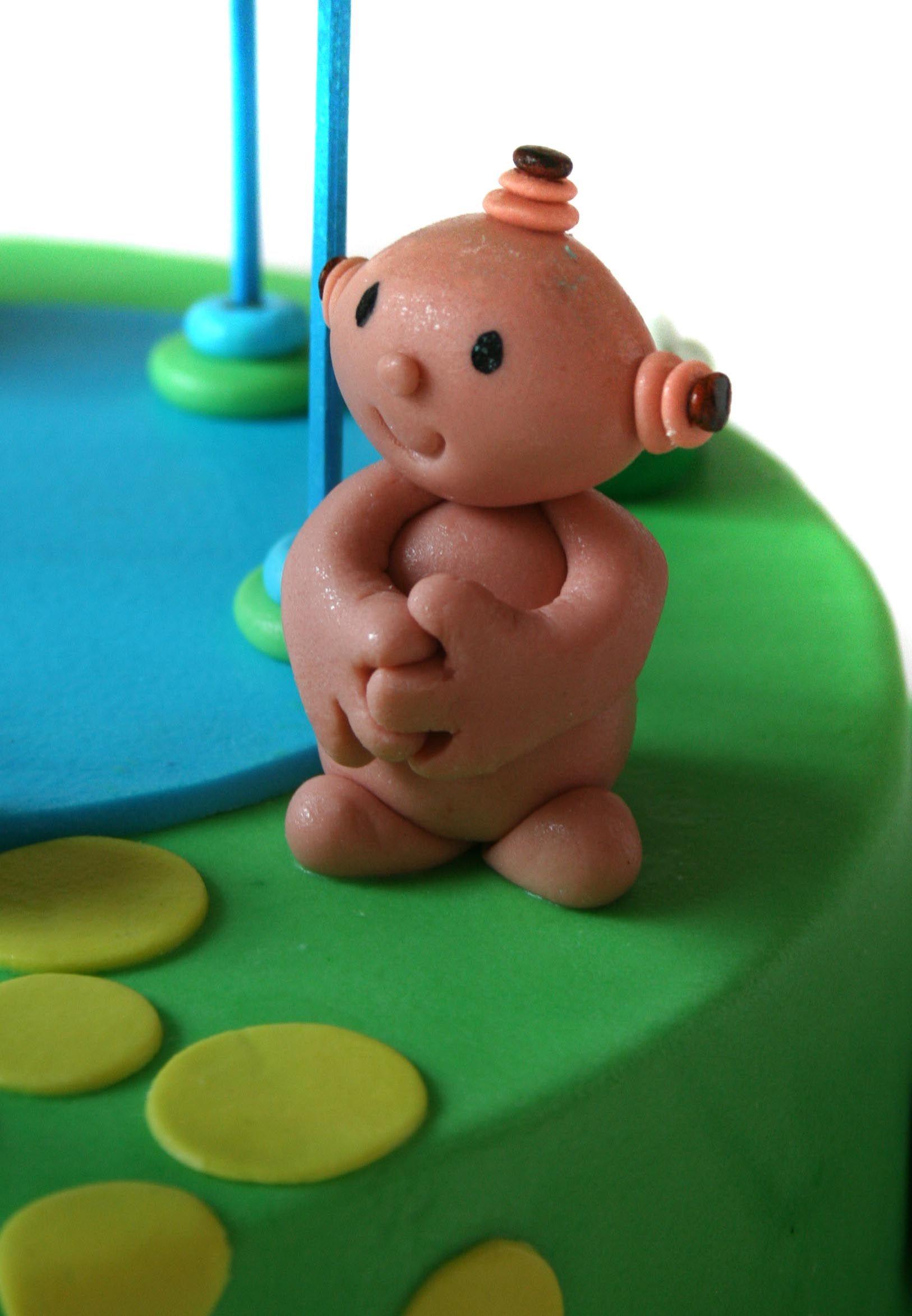 Iggle Piggle Cake Detail