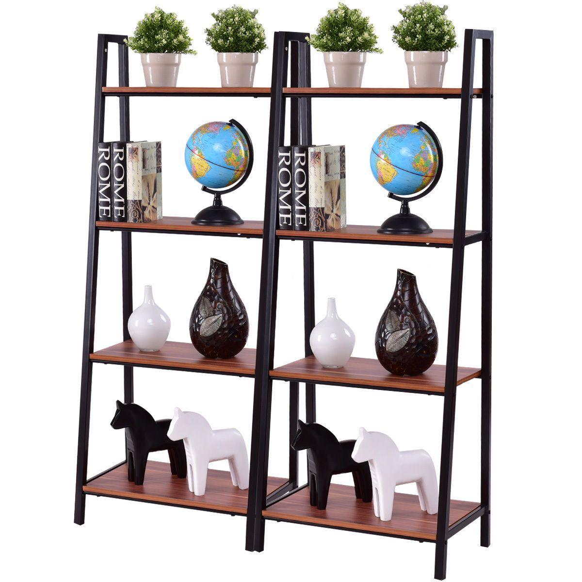 piece tier ladder storage bookshelves in instagram posts