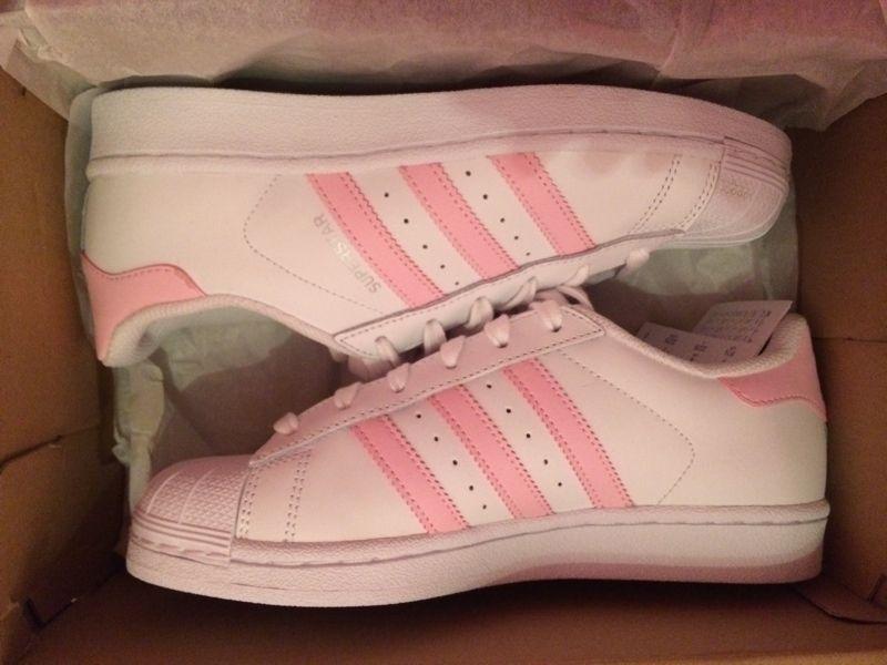 Adidas Superstar rosa rose weiß 36,5 - kleiderkreisel.de