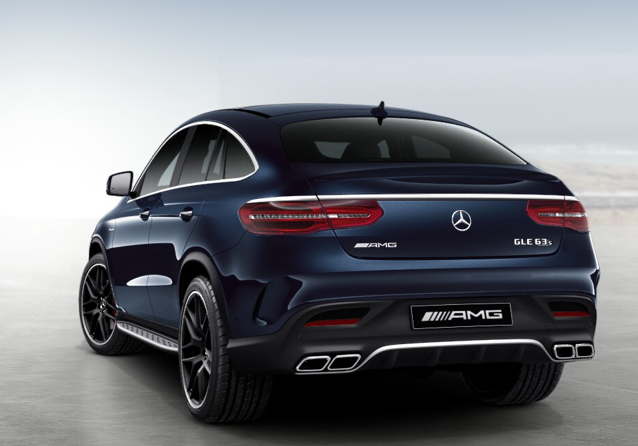 Mercedes-AMG GLE 63 S Coupe | Cavansite Blue | 22-inch AMG cross-spoke light alloy wheels in matt black #mercedesamg
