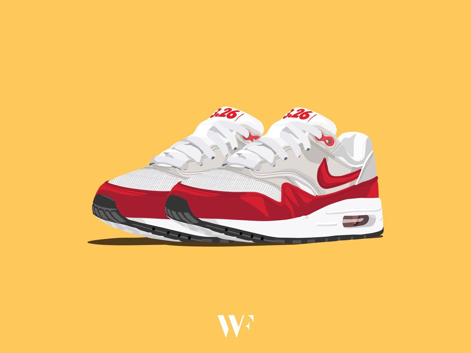 the latest d6dd4 91e0d Lovely Sneakers Illustrations by Stanley Wong – Fubiz Media Air Max Day,  Fire Art,
