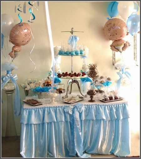 candy bar table baby shower boy google search