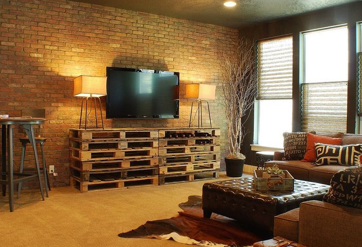 french industrial tv room - google search | fireplace room