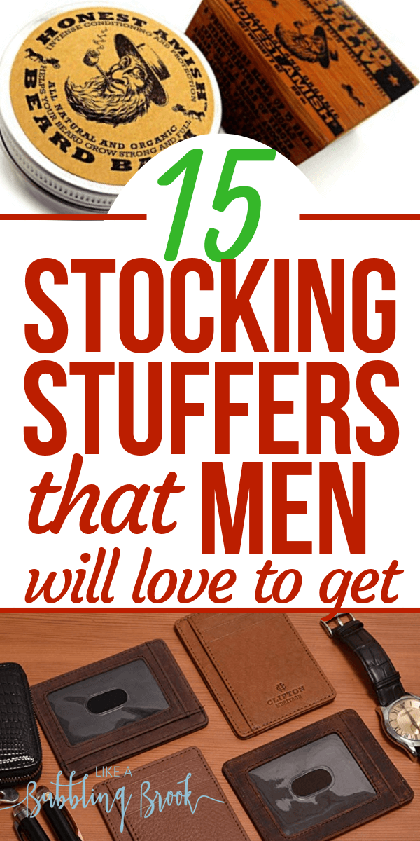 15 Best Stocking Stuffer Ideas For Men (That You Can Get On Amazon!)