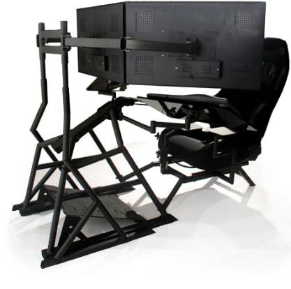 Ergonomic Computer Workstation R3volution Gaming Cockpit