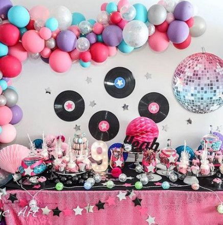 Party invitations disco rock stars 45+ Ideas #rockstarparty