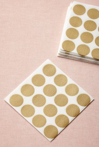 golden dots. The Happy Home Maker