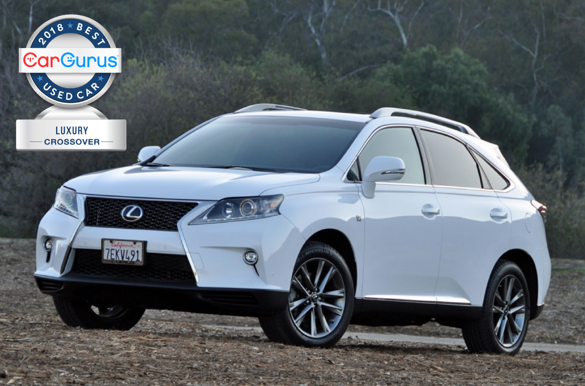 Cargurus 2018 Used Car Awards For Best Luxury Crossover Goes To The Lexus Rx 350