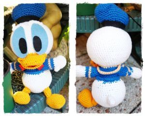 Donald Duck Stuffie Free Pattern Use Google Translate For English