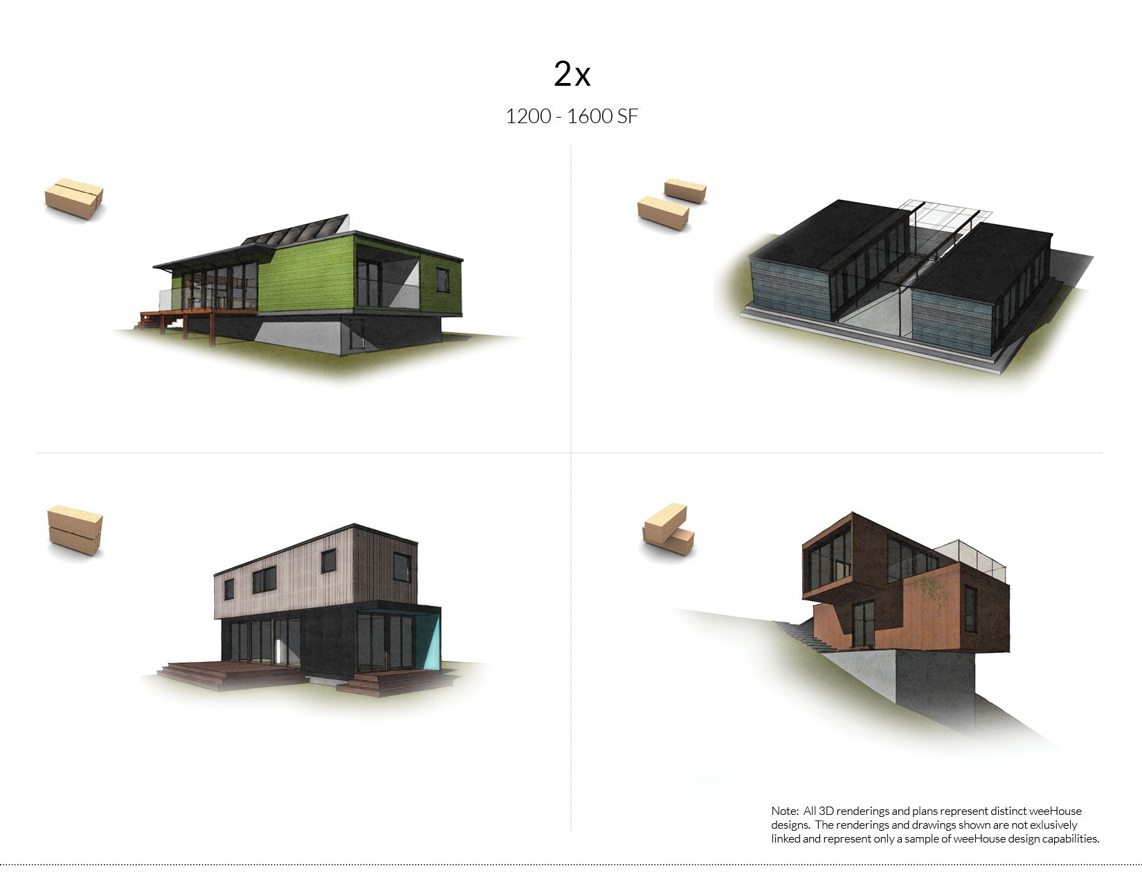 WeeHouse - Modular housing / One module starting @ $110K | prefab ...