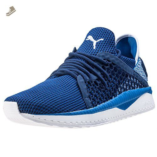 Puma Tsugi Netfit Unisex Trainers Blue White - 11 UK - Puma sneakers for  women ( 0773510dd