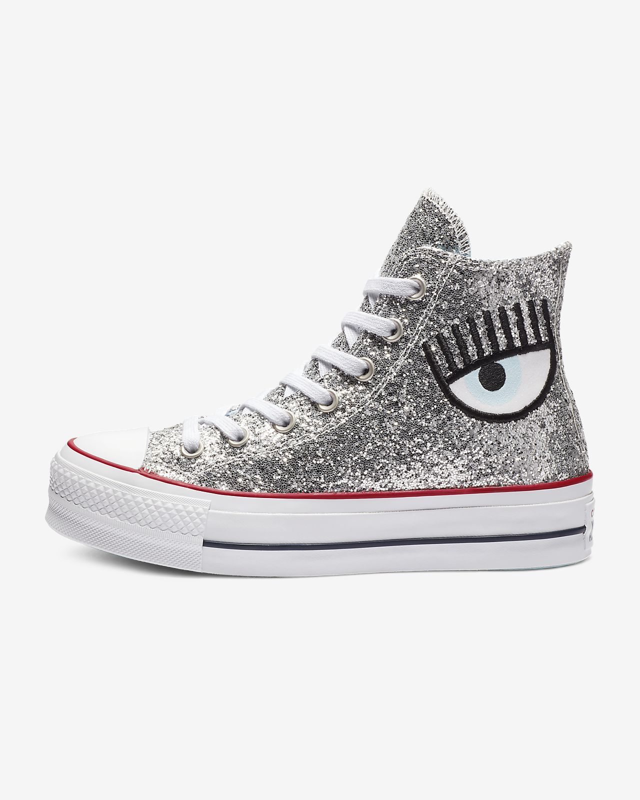 b0143ee7c5f2f2 Converse x Chiara Chuck Taylor All Star Lift High Top Women s Shoe ...