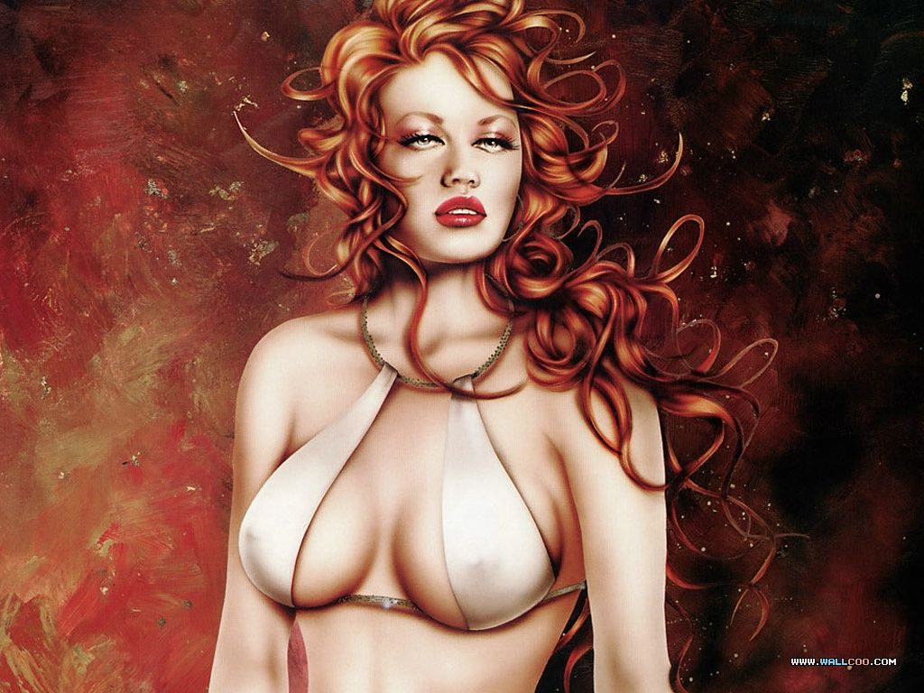 Opinion erotic fantasy women art