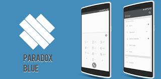 """Paradox Blue CM12.1 Theme v1.0.7  Martes 6 de Octubre 2015.By : Yomar Gonzalez ( Androidfast )  Paradox Blue CM12.1 Theme v1.0.7 Requisitos: 5.0 y arriba Descripción general: Este tema está diseñado para ROM con la última CyanogenMod / CM12 temático del motor. Paradoja Azul es una hermosa (la luz) es el tema que se crea para la gente que ama """"Mínimo"""" y """"Diseño"""" con un acento azul. Para mantenerlo lo más mínimo posible sólo hay unos pocos colores utilizados. Qué hay de temática:  Sistema de…"""