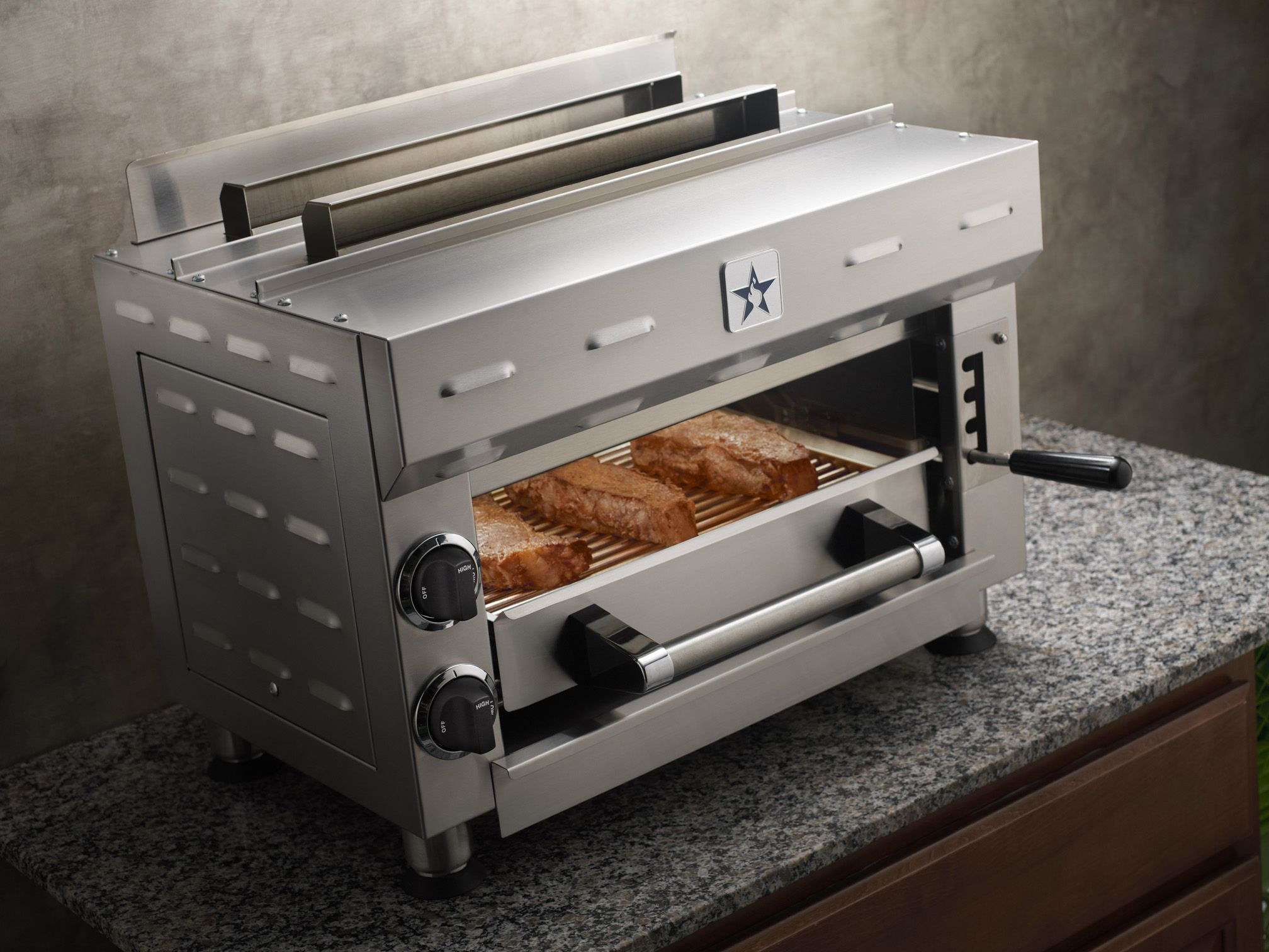 Add A Special Layer Of High Performance, Commercial Quality To Your Home  Kitchen With A BlueStar Salamander Broiler.