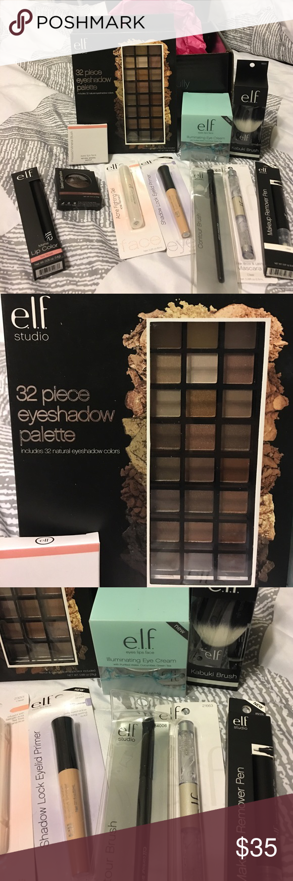 HUGE box of ELF cosmetics! New! NWT (With images) Elf