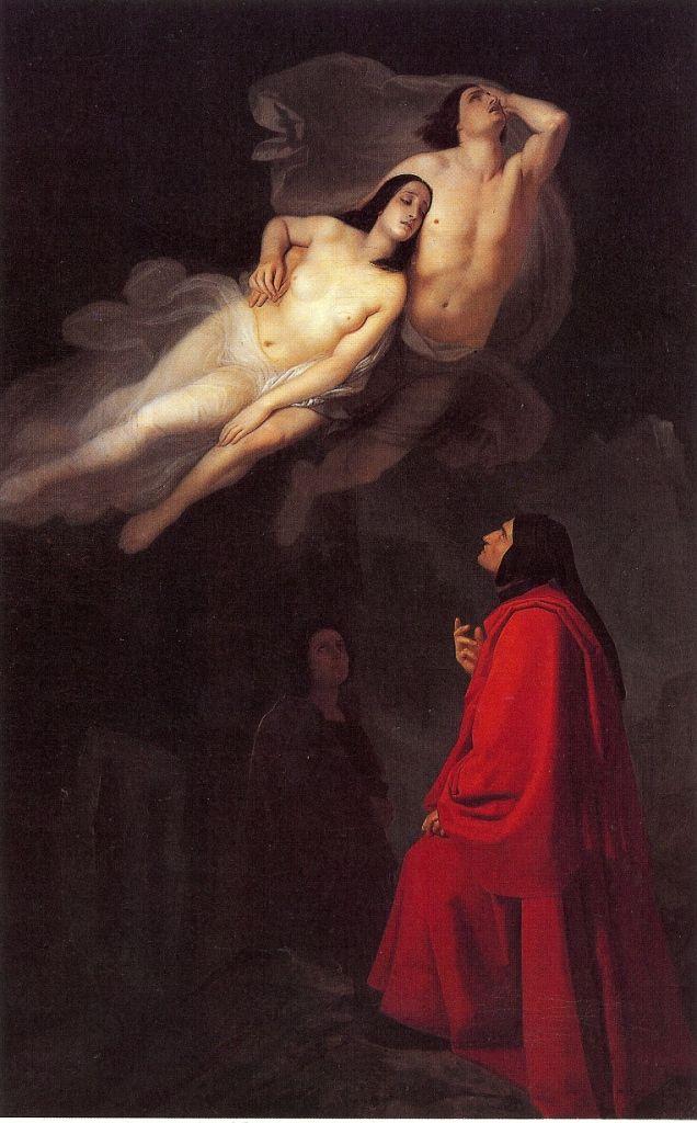 Alexandre Cabanel, Morte di Francesca da Rimini e di Paolo Malatesta, 1871