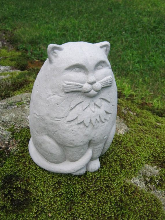 ... Sand, Rock   Available For Order In Quantities Of Only 1   Ships Only  To US A Wonderfully Large Concrete Cat For The Garden. Makes A Big Impressio