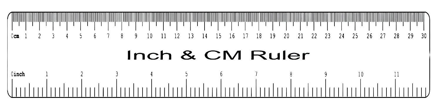 Printable Ruler Actual Size 6 Inch 12 Inch Mm Cm 4 Printable Ruler Ruler Printables