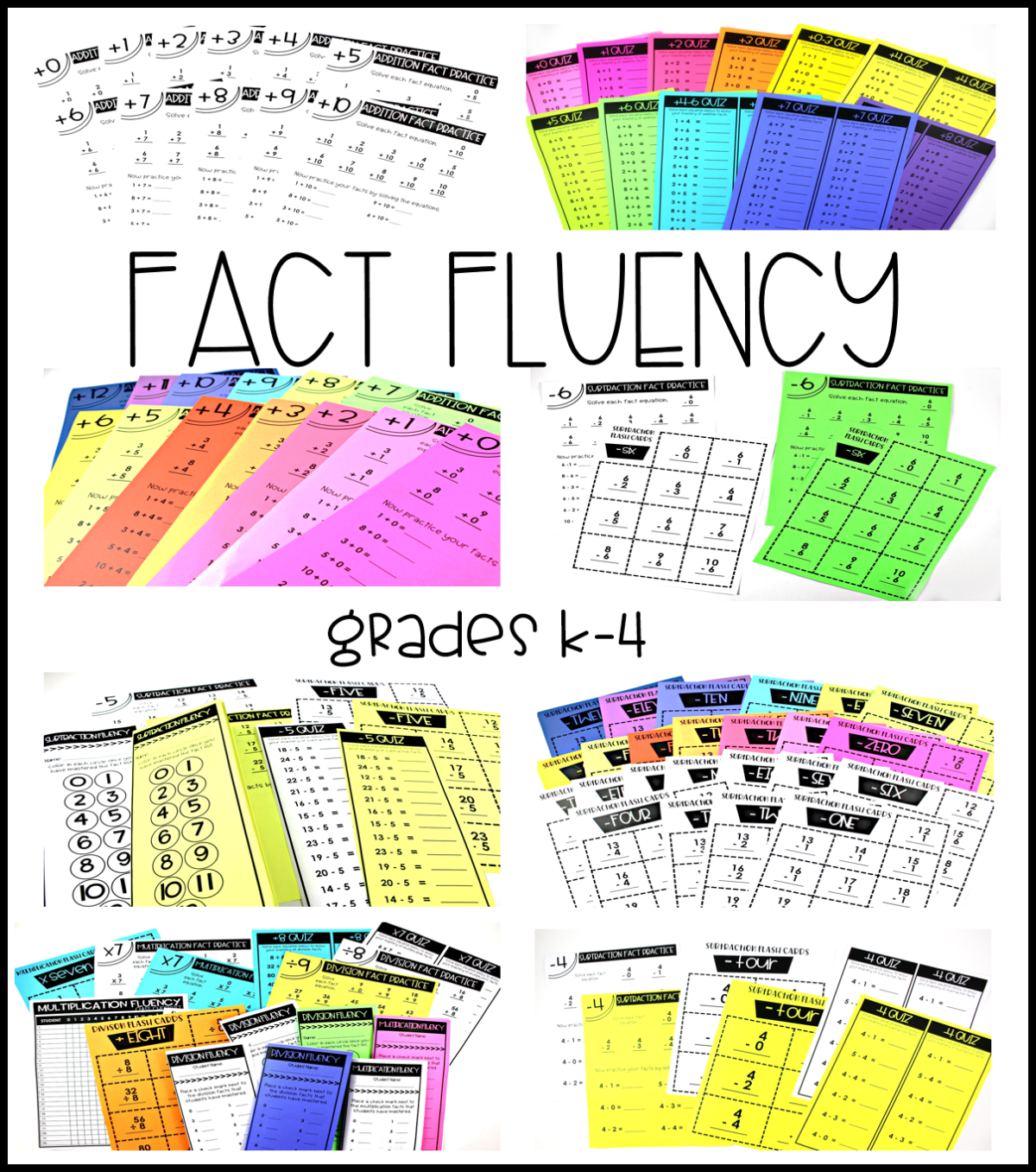Math Fact Fluency