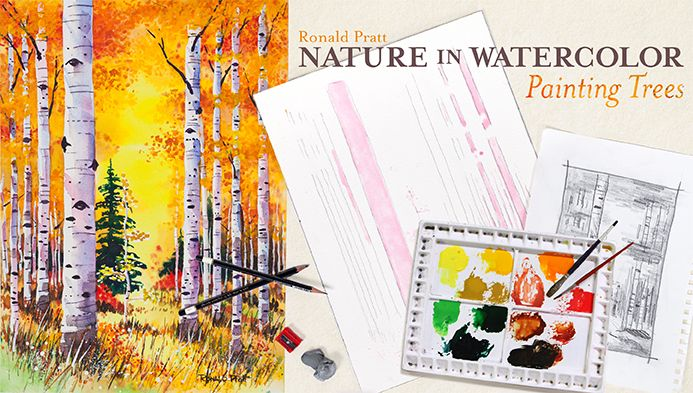 Nature in Watercolor: Painting Trees - class