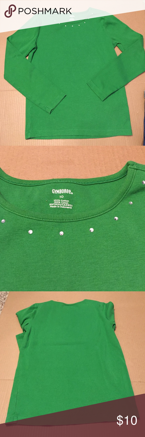 💜size 10 Gymboree shirt Gently pre owned.  🌻prices are negotiable - please feel free to make me an offer!  I also give great discounts when you make offers on bundled purchases!! 🌟 Gymboree Shirts & Tops Tees - Long Sleeve