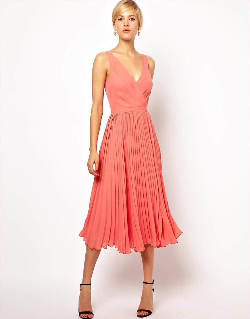 Mango mango pleat and wrap midi dress at asos bridesmaid dress for the next wedding invite that comes in mango pleat and wrap midi dress ombrellifo Image collections