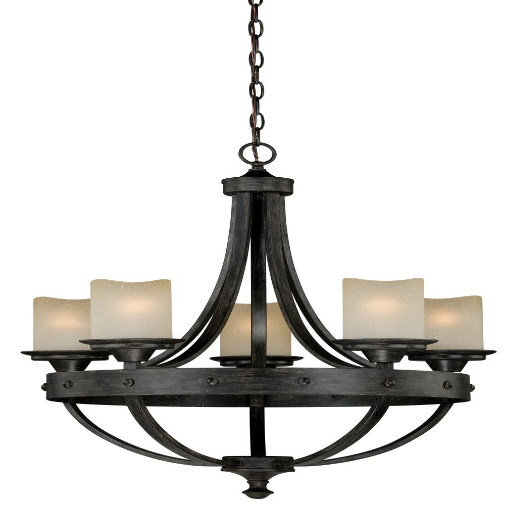 Vaxcel lighting h0135 halifax 5 light chandelier in aged walnut with creme cognac glass is made by the brand vaxcel lighting and is a member of the halifax