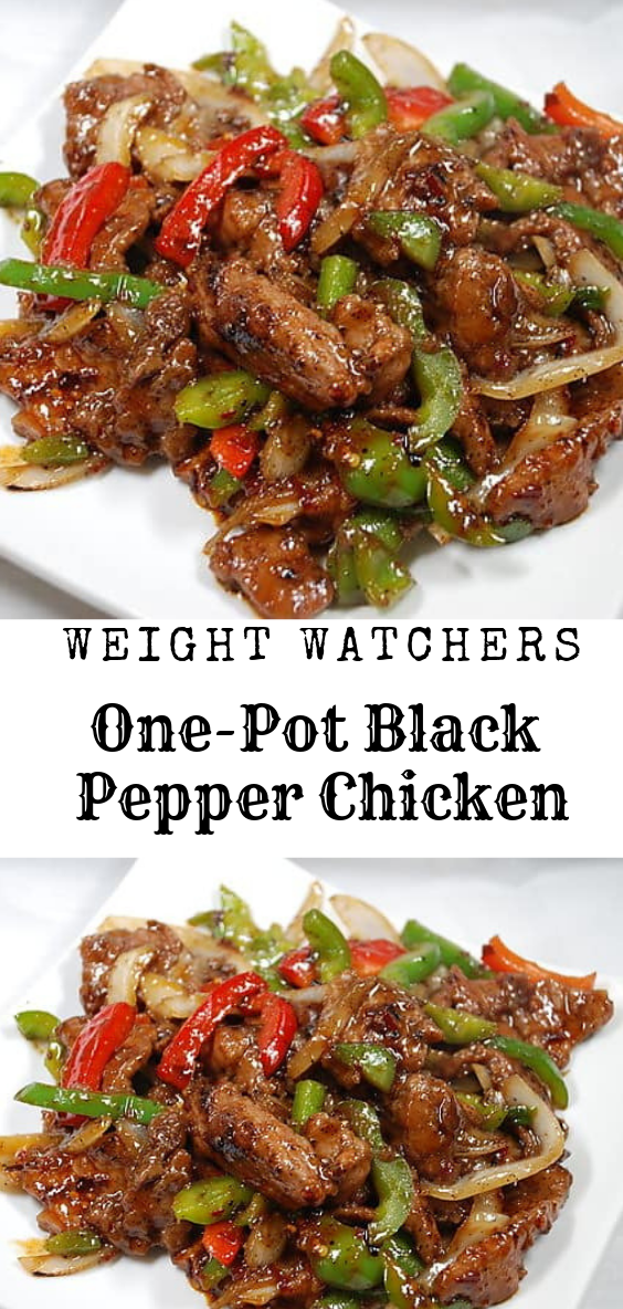One-Pot Black Pepper Chicken images