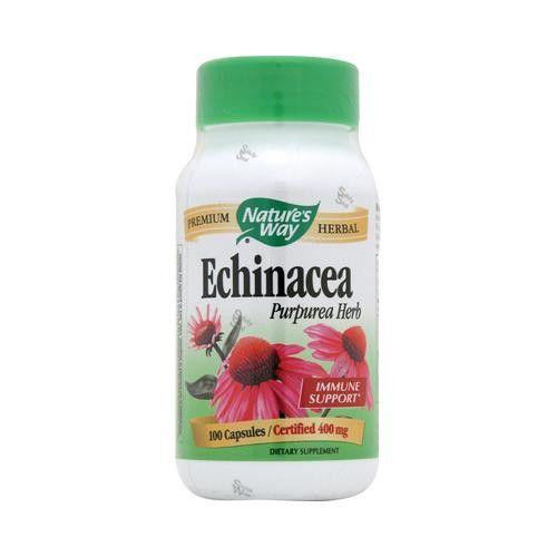 Nature's Way Echinacea Purpurea Herb - 100 Capsules