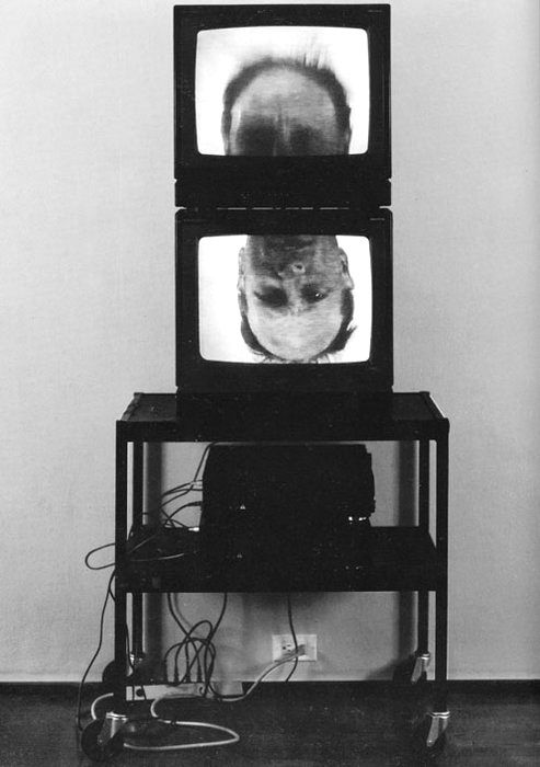 bruce nauman think 1993 bruce nauman 1941 american pinterest kunst k nstler und. Black Bedroom Furniture Sets. Home Design Ideas