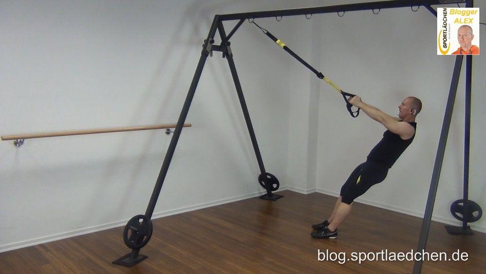 Sling Trainer Übungen Kniebeuge 1