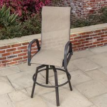 Pleasing Lakeview Outdoor Designs Madison Bay Sling Bar Stool Patio Andrewgaddart Wooden Chair Designs For Living Room Andrewgaddartcom
