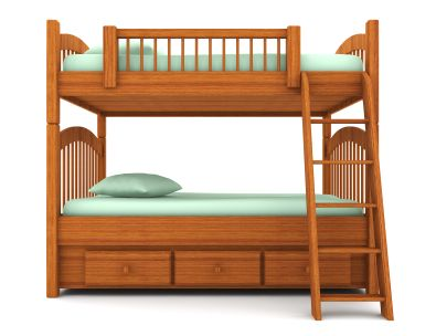 Popular A bunk bed is a type of bed in which one frame is stacked on top Top Design -  Desk with Bed On top Contemporary