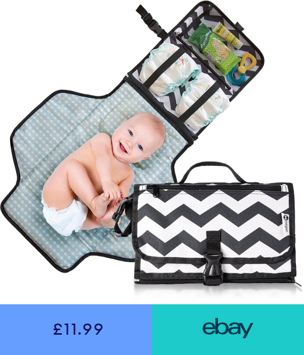 Baby Changing Pad Foldable Travel Toddler Diaper Mat Infant Waterproof Nappy Bag Baby Changing Mat Travel Baby Changing Mat Portable Baby Changing Mat