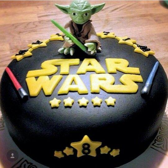 Pastel De Star Wars Cake In 2020 Star Wars Birthday Cake