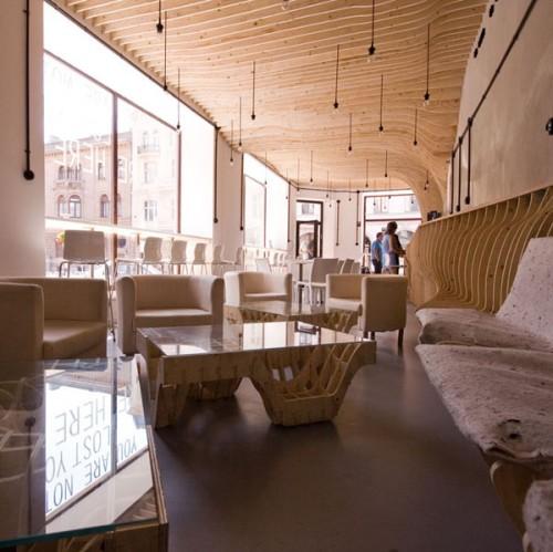 Zmianatematu coffee shop by XM3