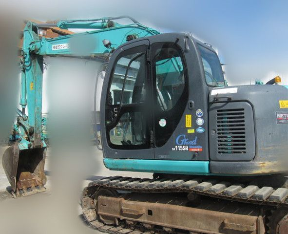 S03  kobelco hydraulic excavator sk115sr-1es yv04-03000up from japan
