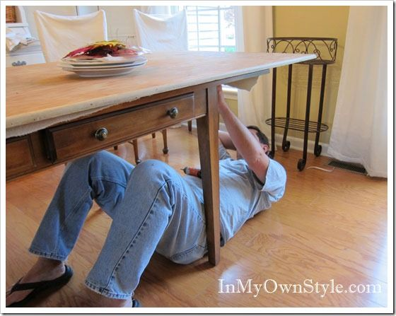 How To Enlarge A Dining Room Table For Extra Seating In My Own