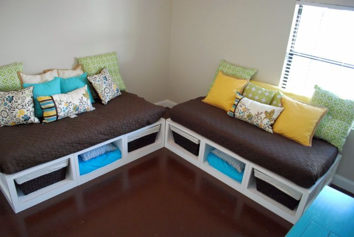 How To Make Daybed Twins With Storage Pictures