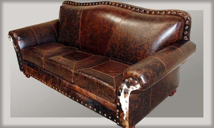 Coburn 3 Cushion Western Sofa