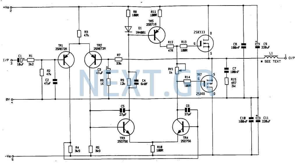 bomb proof 150 watt mosfet power amplifier