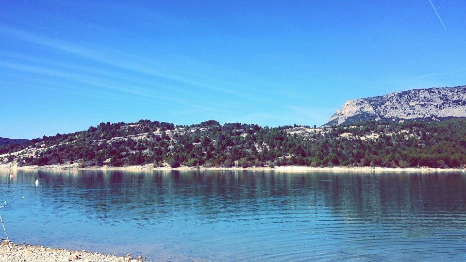 Nice landscape in south of France.