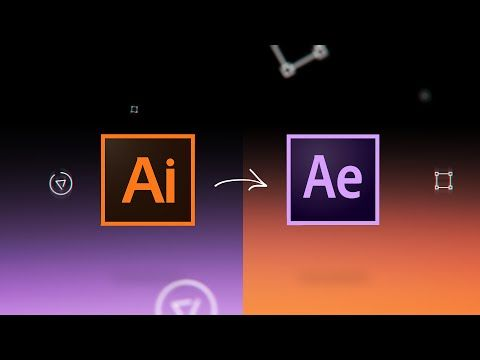 After Effects project - Animated Outline Illustrations