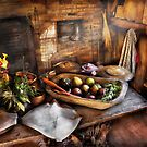 Chef - Kitchen - The start of a healthy meal  by Mike  Savad