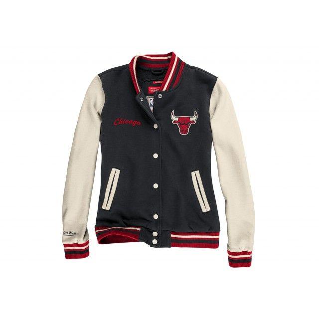 Women s Fleece Varsity Jacket Chicago Bulls  bdebbe1f7e