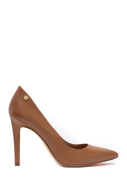 Calvin Klein | Brady Leather Pointed Toe Pump - Wide Width Available #nordstromrack